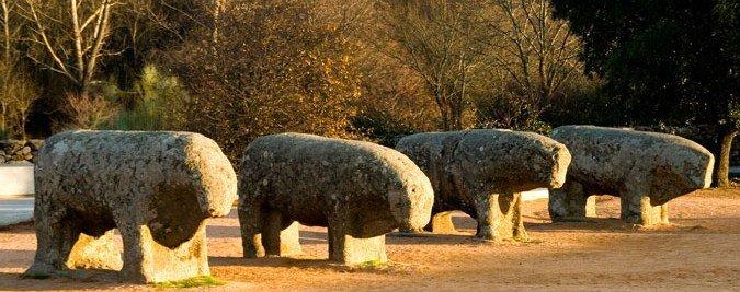 Resultado de imagen de fotos toros de guisando el tiemblo P.N.G.