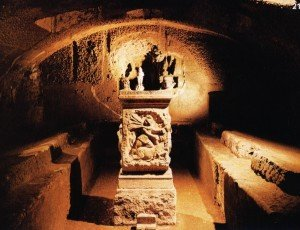 Templo de Mitra en Roma