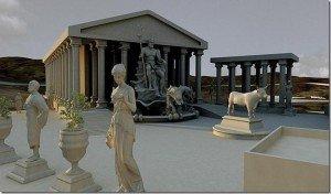El templo Eraklión, de la Atlántida