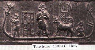 Toro porteador, Babilonia 3.000 a.C.