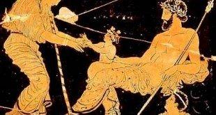 Dioniso nace del muslo de Zeus