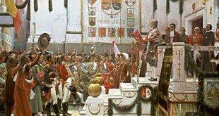 Proclamación de la Constitución, de Salvador Viniegra