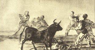 Desjarrete de la canalla, litografía nº 12 de Goya