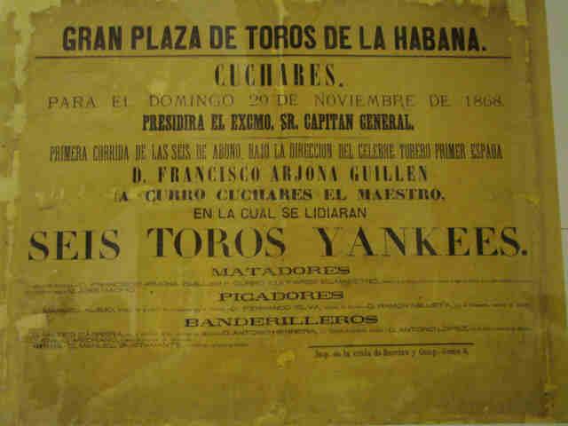 Resultado de imagen de fiesta de toros en Cuba