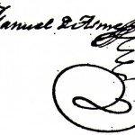 Firma de Manuel de Asme