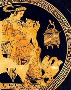 Pesífae y el Minotauro