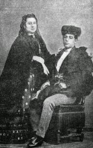 El Tato y su esposa