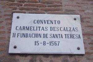 Placa del Convento