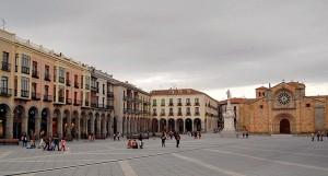 Ávila, plaza del Mercado grande